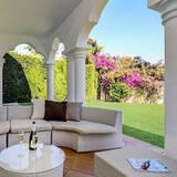 Klasiska villa - Terase/iekšējais pagalms