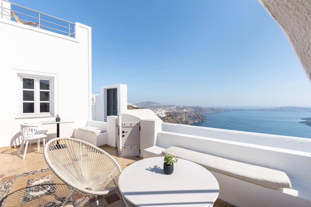Suite – panoramic, flere senger, utsikt mot sjø - Terrasse/veranda