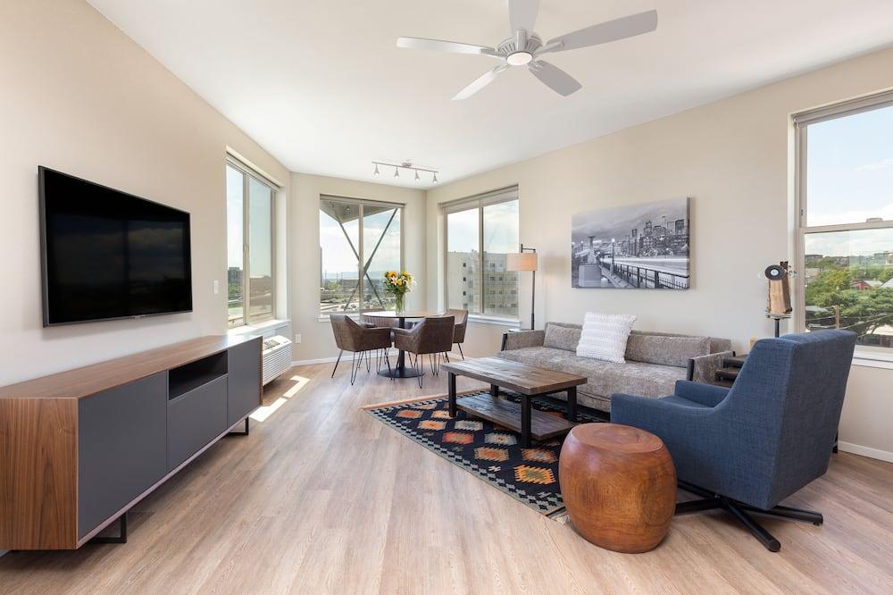 Apartament rodzinny, 2 sypialnie, 2 łazienki - Powierzchnia mieszkalna