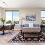 Apartament typu City, 1 sypialnia, kuchnia - Zdjęcie opisywane