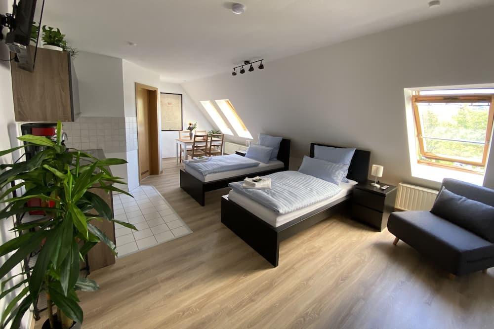 Apartamento, Casa de Banho Privativa, Vista Cidade - Imagem em Destaque