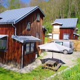 Chalet With 2 Bedrooms in Niaux, With Wonderful Mountain View and Furnished Garden