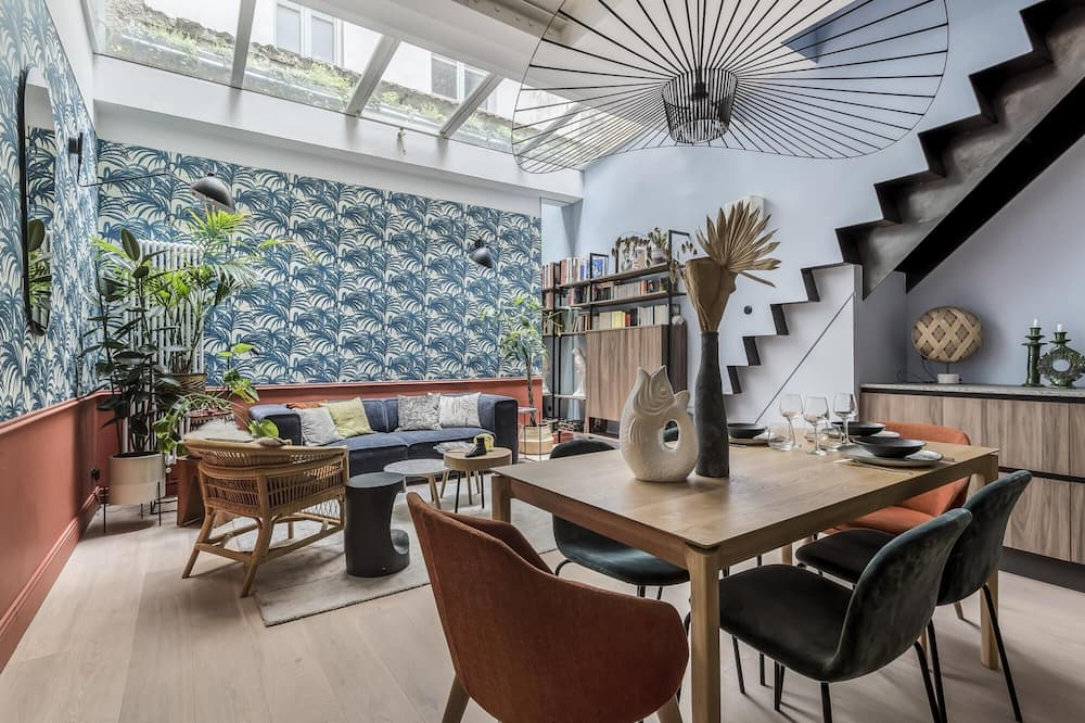 Jungle-art - tr s Calme - Cosy - Duplex