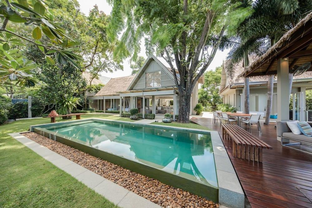 Villa, 4Schlafzimmer, eigener Pool - Privatpool