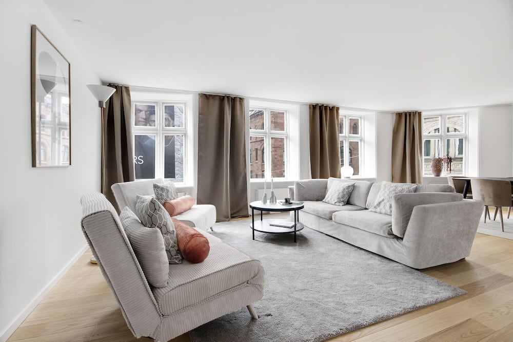 Spacious Bright Apartment With a Balcony in the Center of Copenhagen