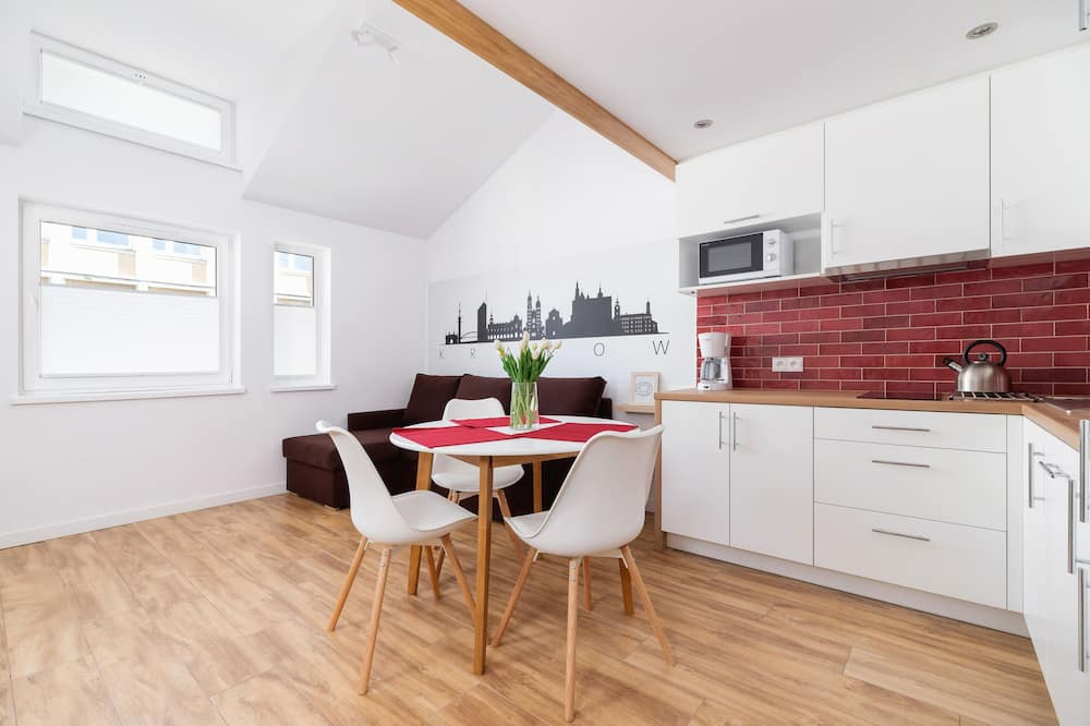 Studio, Küche - Wohnzimmer