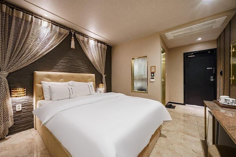 Deluxe Δίκλινο Δωμάτιο (Double) - Δωμάτιο επισκεπτών