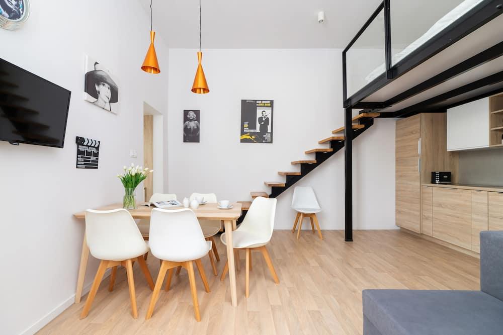 Apartament, 2 sypialnie, kuchnia - Powierzchnia mieszkalna