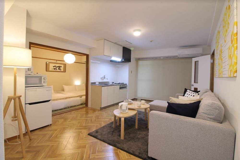 Departamento, 1 habitación, para no fumadores (203) - Sala de estar