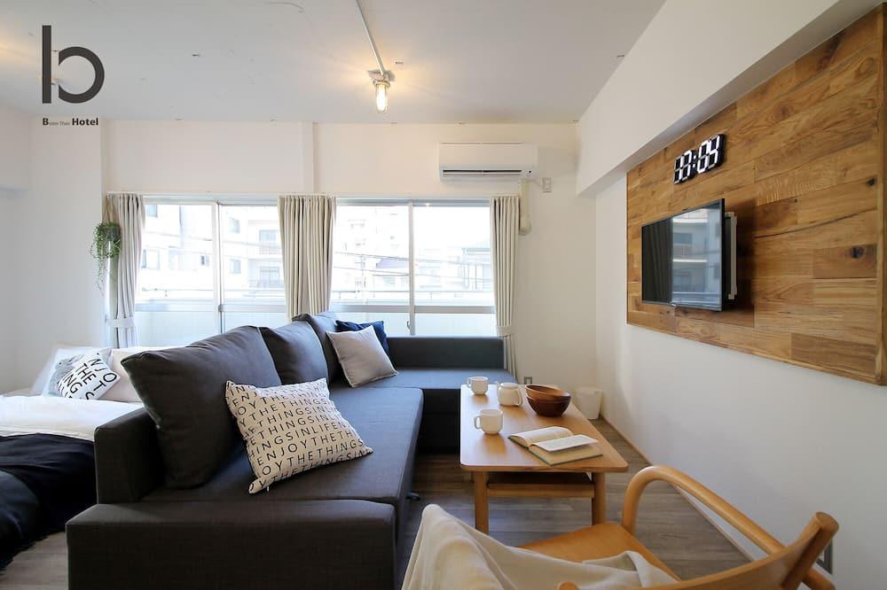 דירה, חדר שינה אחד, ללא עישון - אזור מגורים