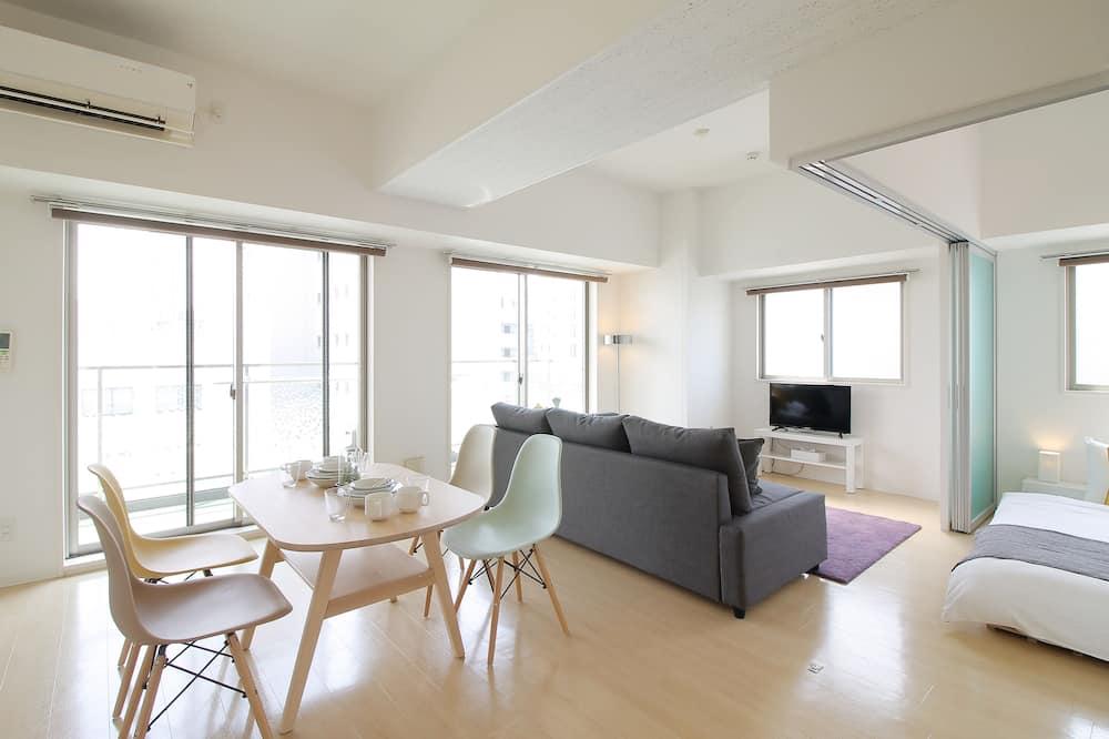 דירה, 2 חדרי שינה, ללא עישון - אזור אוכל בחדר