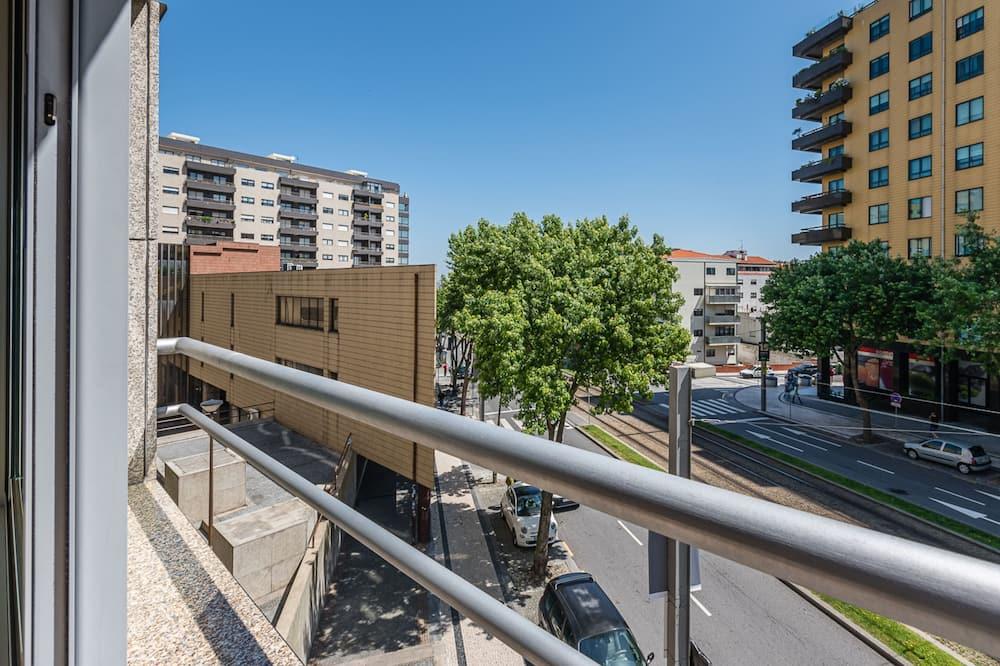 Apartemen Basic, 2 Tempat Tidur Double - Balkon