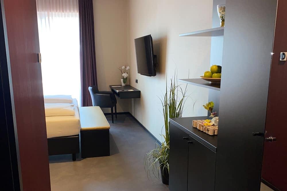 Comfort Büyük Yataklı Tek Kişilik Oda - Oturma Alanı