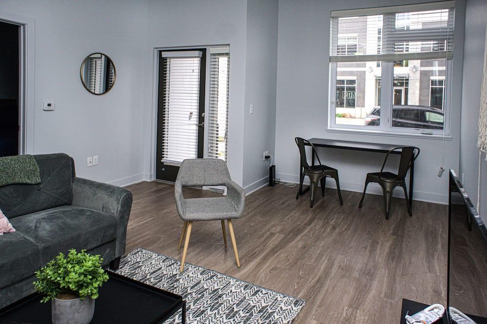 Lejlighed - 2 soveværelser - køkken - Stue