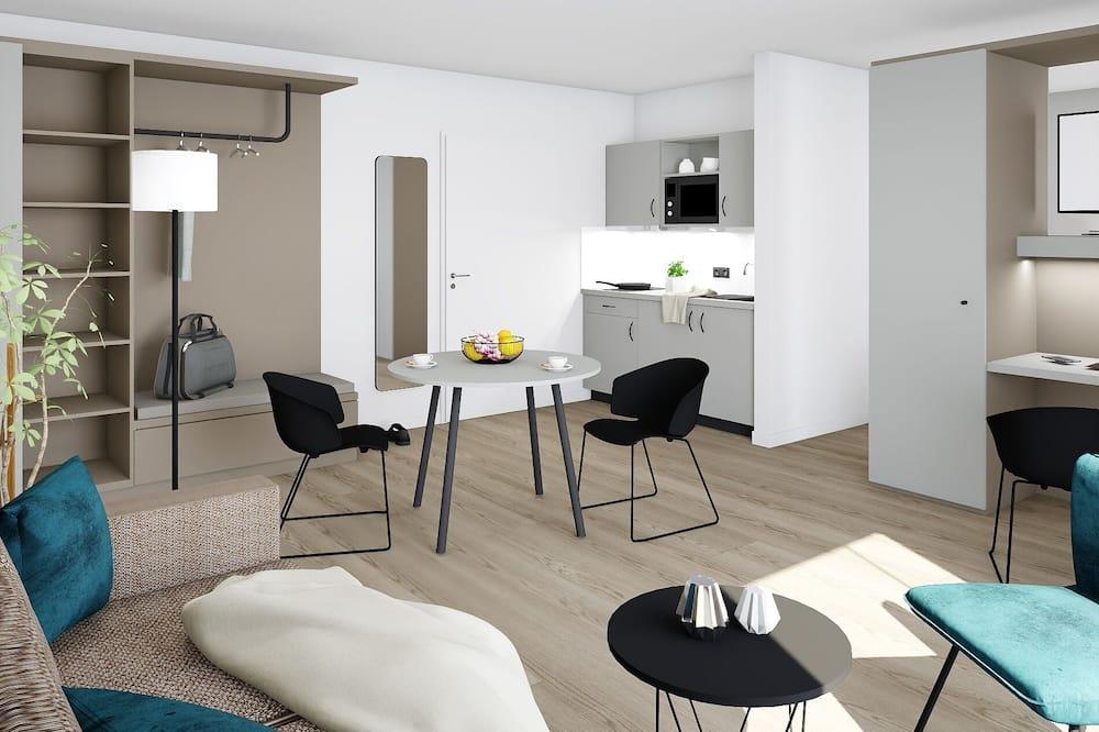 Apartamento Standard - Área de Estar