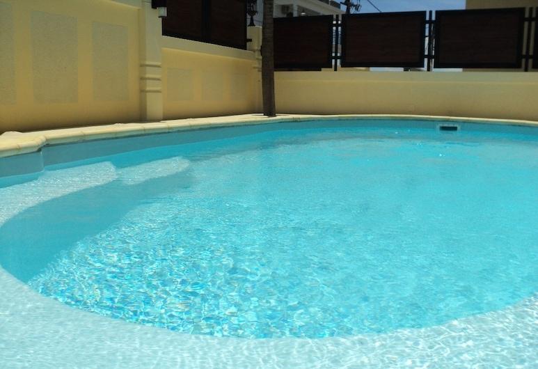 蒙娜麗莎聖安娜大灣公寓, Grand-Baie, 室外泳池
