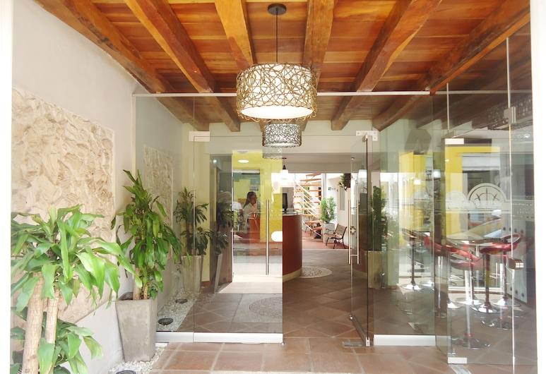 Hotel Casa Victoria Cartagena, Cartagena, Sitzecke in der Lobby