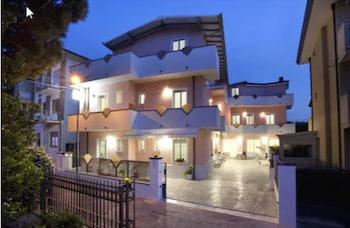 在里米尼的奇基尼别墅酒店照片