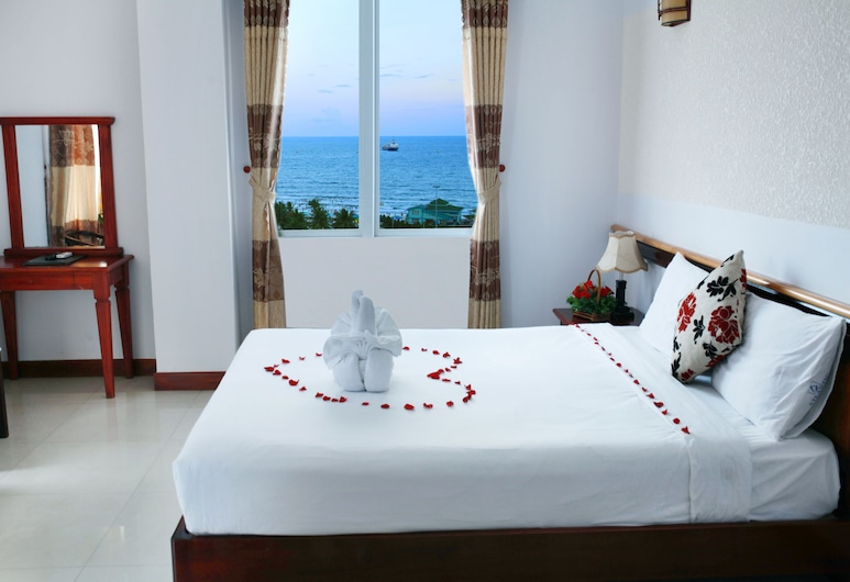 Atlantic Da Nang Hotel, Da Nang, Standard Double Room, City View, Bilik Tamu