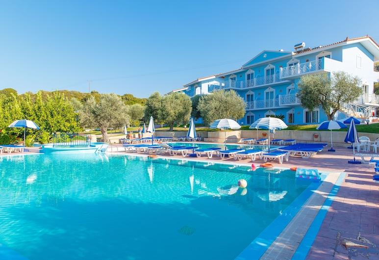 Filoxenia Hotel Apartments, Rodas, Alberca