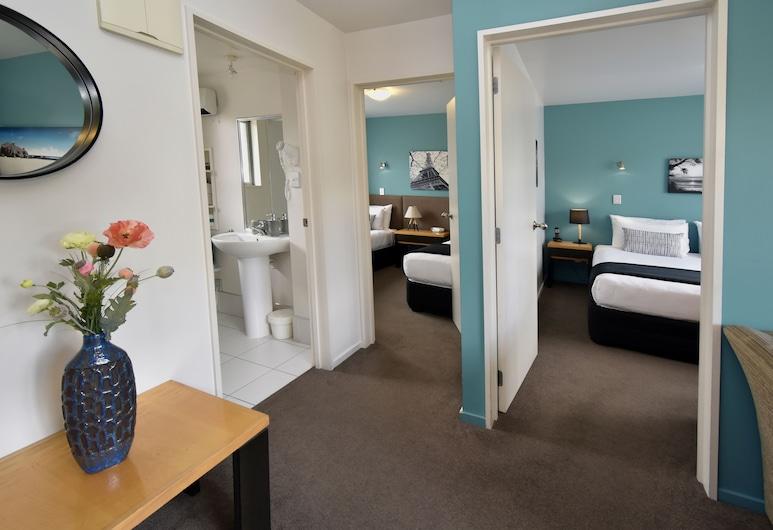 菲弗卡頓酒店, 基督城, 公寓, 2 間臥室, 客房