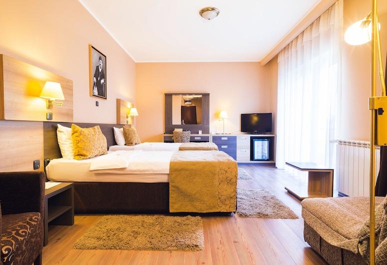 Hill Hotel, Jagodina, Classic Twin Room, 1 Bedroom, Smoking, Park View, Park view