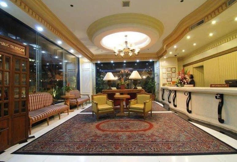 Tiara Oriental Hotel, Makati, Ruang Duduk Lobi