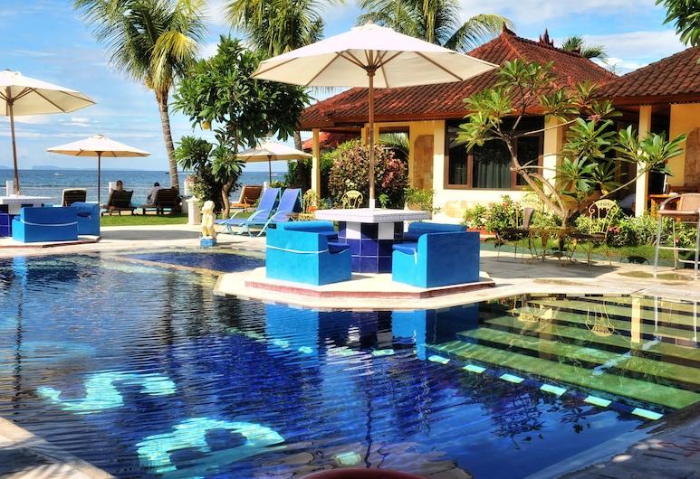 Bali Seascape Beach Club, Karangasem, Lauko baseinas