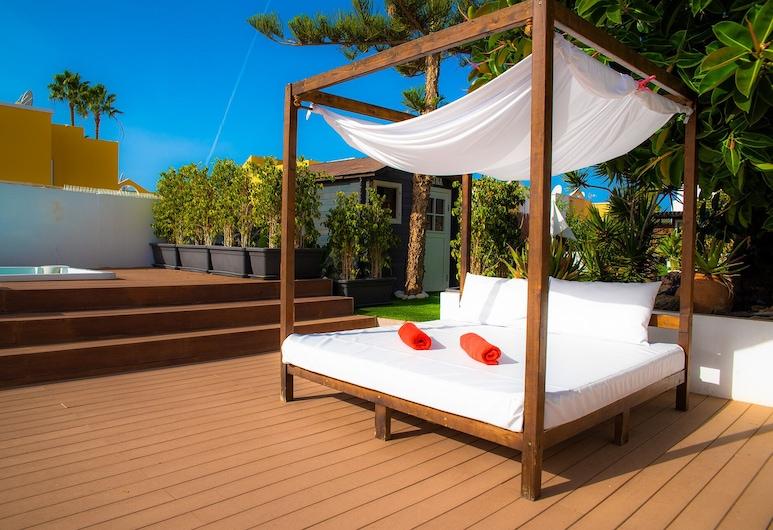 Vista Bonita - Gay Only Resort, San Bartolome de Tirajana, Geladak matahari