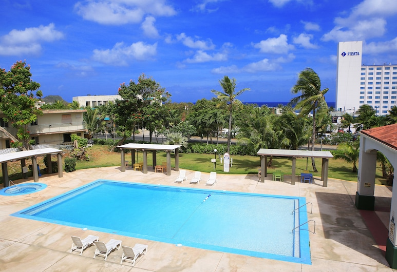 Garden Villa Hotel, Tamuning, Deluxe Studio, Balcony View