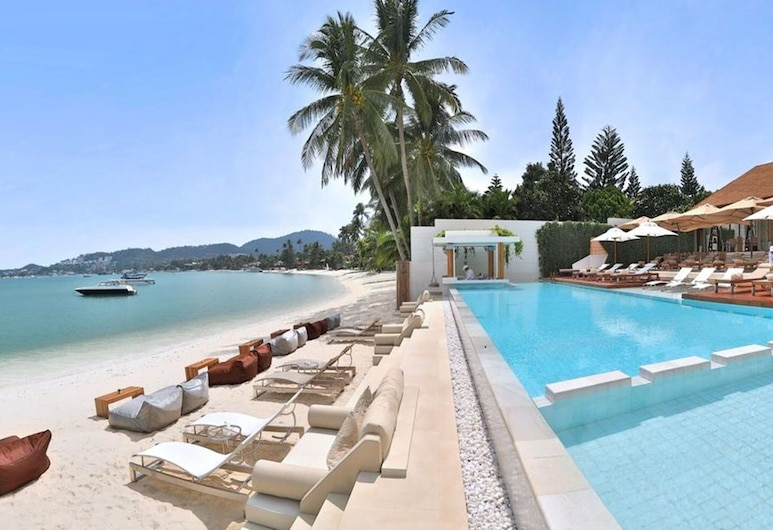 蘭納酒店, 蘇梅島, 海灘