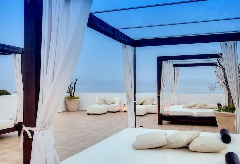Barceló Hydra Beach Resort, Ermionida, Varanda com Espreguiçadeiras