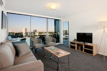 Picture of Melbourne Short Stay Apartments MP Deluxe in Southbank