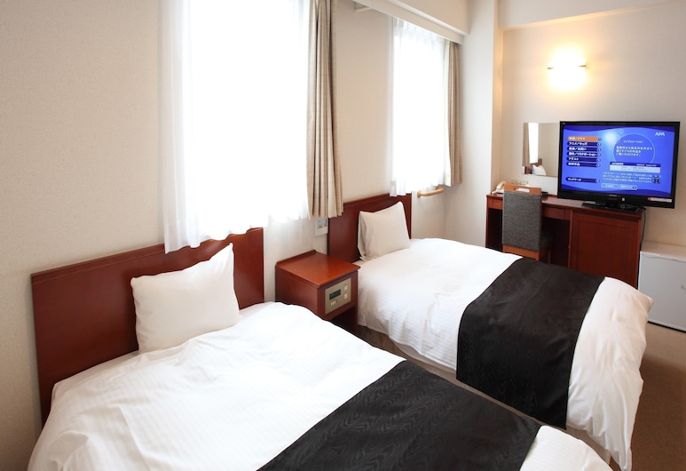 APA Hotel Akita-Senshukoen, Akita, Twin Room, Non Smoking, Bilik Tamu