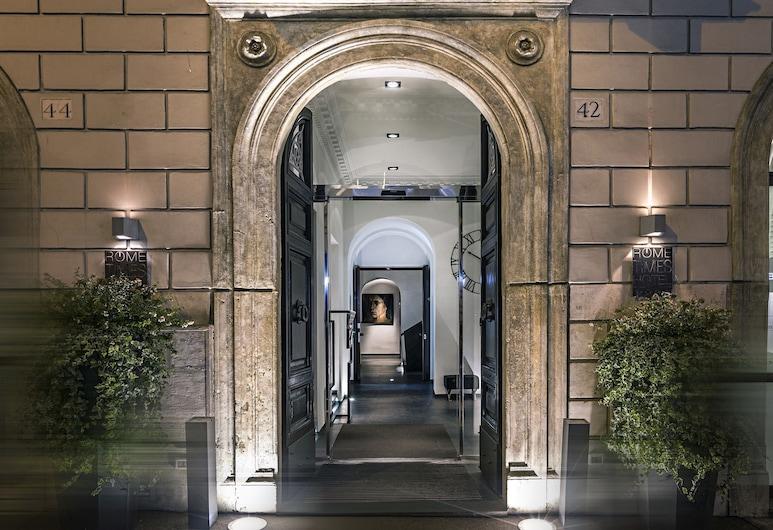 Rome Times Hotel, Roma, Entrada del hotel