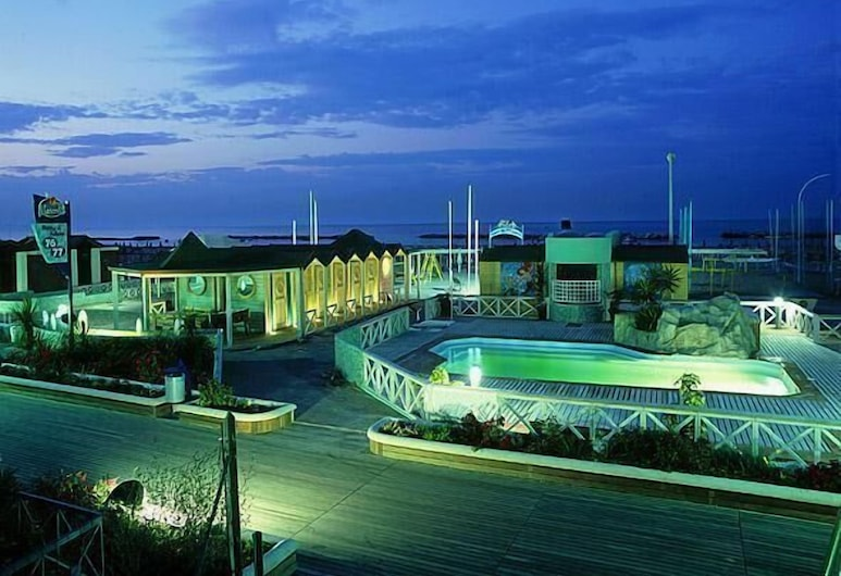 Hotel Bristol, Cattolica, View from Hotel