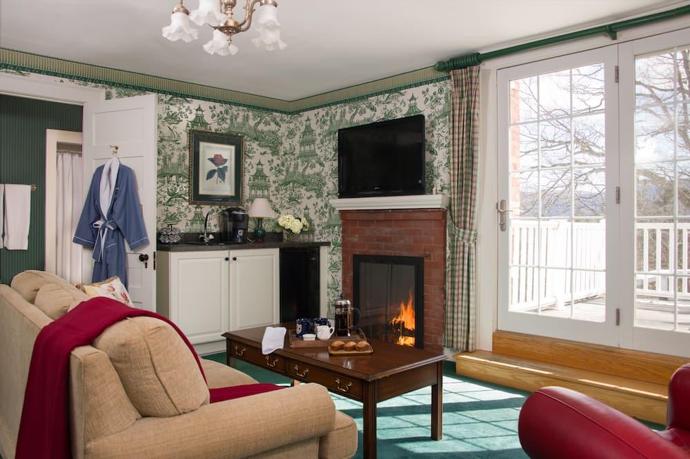 Suite, baño privado (Frances Suite) - Sala de estar
