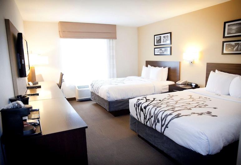 Sleep Inn & Suites, Moundsville, Standard Room, 2 Katil Ratu (Queen), Non Smoking, Bilik Tamu