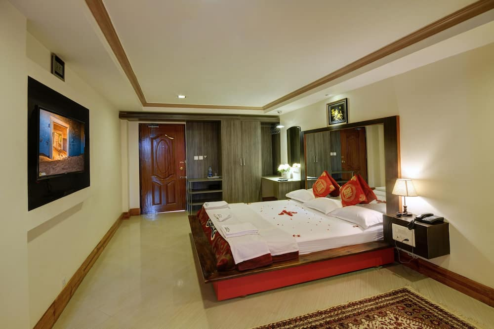 Suite Lune de Miel - Salle de séjour