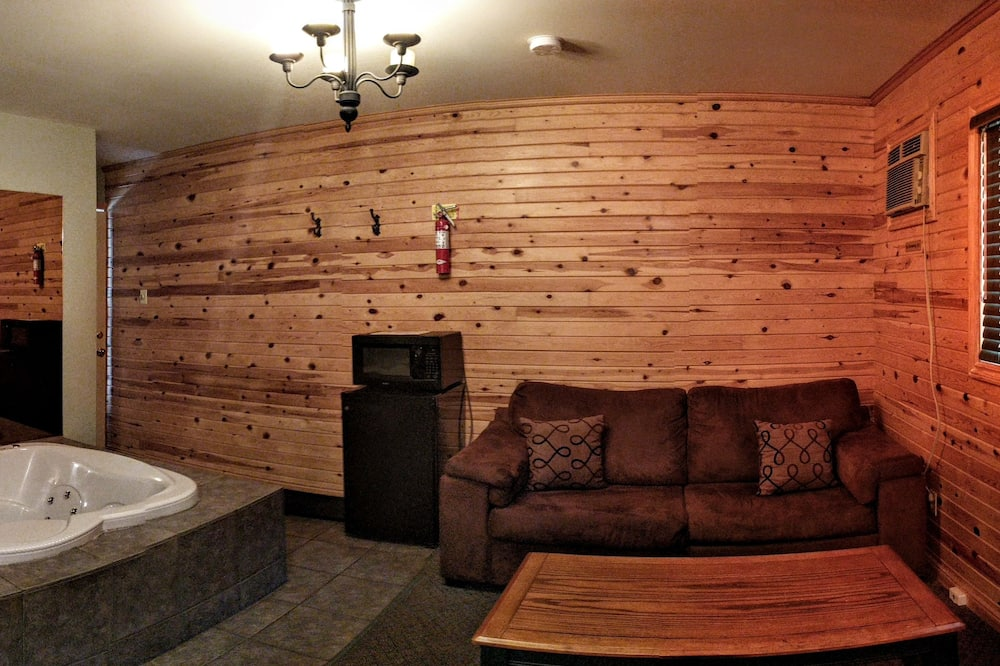 豪華套房, 1 張加大雙人床, 按摩浴缸 - 客廳