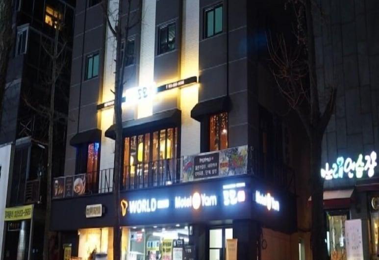 Motel Yam Seorae Village, Soul, Vstupní prostor zevnitř