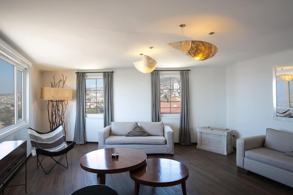豪華雙人房 - 客廳