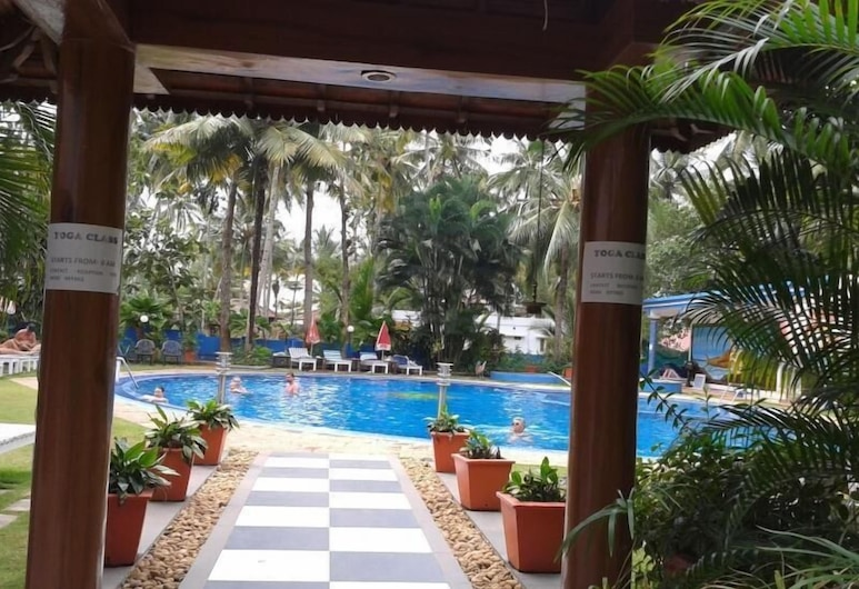 Akhil Beach Resort, Varkala, Kolam Terbuka