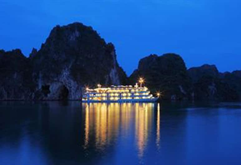 The Au Co Cruises, Ha Long, Hotel Front – Evening/Night