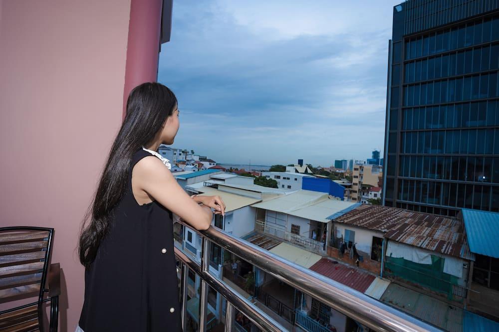 Pokoj typu Deluxe - Výhled z balkonu