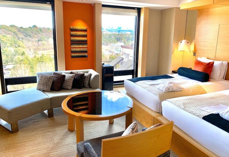 Hotel Trusty Kanazawa Korinbo, קאנאזאווה, חדר אורחים