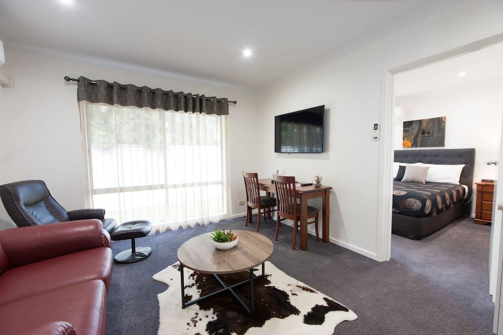 Luksusa numurs ar papildu ērtībām, viena guļamistaba - Dzīvojamā istaba