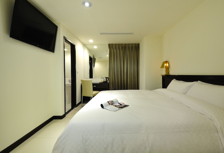 Bravo Hotel, Taichung, Luxury Double Room, Guest Room