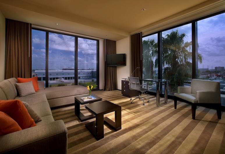 EB Hotel Miami, Miami Springs, Deluxe Suite , Obývacie priestory