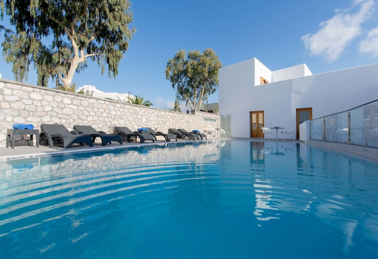 Anamnesis Spa Luxury Apartments, Santorini, Outdoor Pool